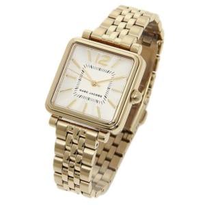 マークジェイコブス 時計 MARC JACOBS MJ3462 VIC30 ヴィク30 腕時計 ウォッチ ゴールド/ホワイト by ブランドショップAXES(日本流通自主管理協会会員)