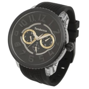 テンデンス 時計 TENDENCE TY562001 フラッシュ マルチ レディース/メンズ 腕時計 ウォッチ ブラック/シルバー by ブランドショップAXES(日本流通自主管理協会会員)