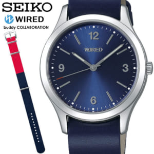 【送料無料】SEIKO WIRED セイコー ワイアード クオーツ 腕時計 ウォッチ メンズ 男性用 10気圧防水 agak705 by CAMERON