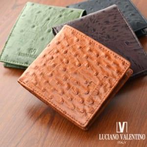 ルチアーノバレンチノ 牛革財布