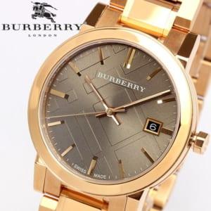 【送料無料】【BURBERRY】バーバリー 腕時計 レディース ピンクゴールド メタル スイス製 The City シティ BU9005 人気 ブランド ウォッチ うでどけい 女性用 Lady's by CAMERON