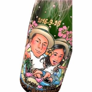 日本酒★似顔絵彫刻ボトル