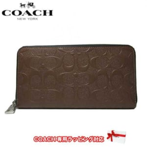 シンプルデザインが素敵なコーチの財布