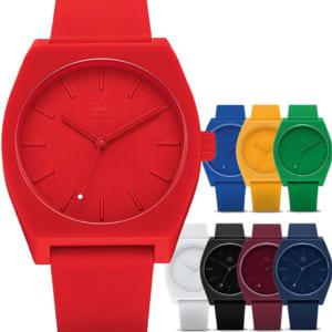 ADIDAS アディダス 腕時計 メンズ レディース PROCESSSP1 プロセス ホワイト 白 防水 adidas ランニング ラバー ユニセックス ウォッチ by CAMERON
