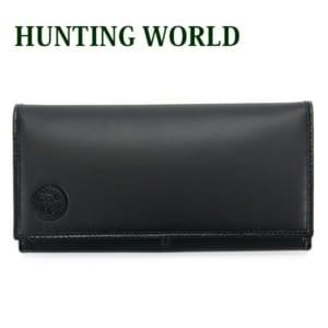 ハンティングワールド 二つ折り長財布