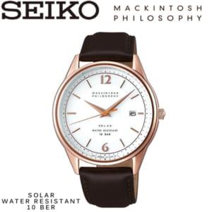 【送料無料】5月中旬入荷予定SEIKO MACKINTOSH PHILOSOPHY セイコー マッキントッシュ フィロソフィー 腕時計 ウォッチ メンズ ソーラー 10気圧防水 fbzd991 by CAMERON