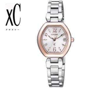 【送料無料】【CITIZEN XC】【シチズン クロスシー】 腕時計 レディース エコ・ドライブ電波 女性用 ES8055-65A うでどけい レディス ladies by CAMERON