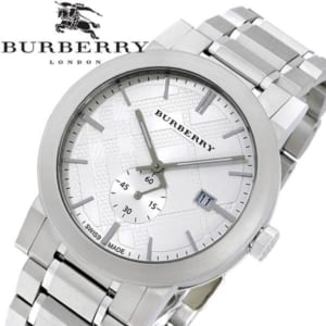 【送料無料】BURBERRY バーバリー 腕時計 ウォッチ メンズ 男性用 クオーツ 5気圧防水 デイトカレンダー スモールセコンド bu9900 by CAMERON
