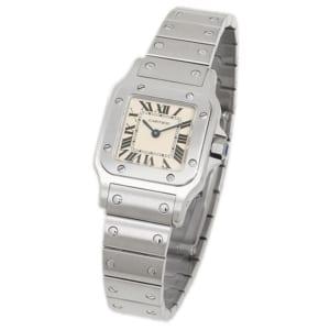 カルティエ 時計 CARTIER W20056D6 サントスガルベSS SM レディース腕時計ウォッチ シルバー by ブランドショップAXES(日本流通自主管理協会会員)