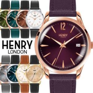 【100%本物保証】HENRY LONDON ヘンリーロンドン 腕時計 レディース メンズ 革ベルト レザー ウォッチ ローズゴールド ブランド 人気 ランキング シンプル 39mm バレンタイン ギフト by CAMERON