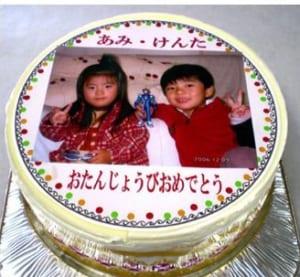 大人気!写真デコレーションケーキ 5号~ クール便・イチゴ入り・バースデーケーキ・お誕生日・お祝い・プレゼント by 写真ケーキ工房のハナビシ