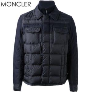 【送料無料】MONCLER モンクレール ダウンジャケット BLAIS ブレイス メンズ アウター ダウン ネイビー 41325 85 53227 742 ギフト by CAMERON