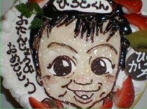 ☆似顔絵ケーキ5号☆【直径15cm・3~4人様用】