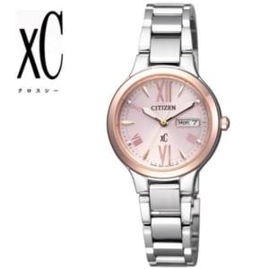 【送料無料】【CITIZEN XC】【シチズン クロスシー】 腕時計 レディース エコ・ドライブ デイデイト 女性用 EW3224-53W うでどけい レディス ladies by CAMERON