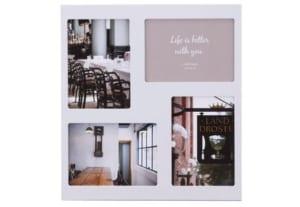 LADONNA ラドンナ リビング フォトフレーム ホワイト LA10-40-WH by ヤスダ倶楽部
