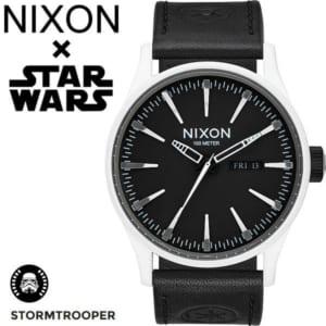 【NIXON×STAR WARS】ニクソン スターウォーズ コラボモデル STORM TROOPER ストームトルーパー セントリー メンズ レディース 腕時計 ステンレス レザーベルト ウォッチ A105SW-2243-00-1 by CAMERON