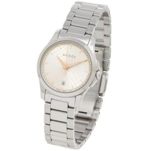 グッチ 時計 GUCCI YA126593 GーTIMELESS 3LINK レディース腕時計ウォッチ シルバー by ブランドショップAXES(日本流通自主管理協会会員)
