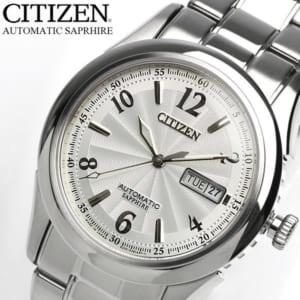 【送料無料】【CITIZEN】 シチズン メカニカル 腕時計 カレンダー メンズ 自動巻き 日本製 オートマティック メタル メイドインジャパン Made in JAPAN NH8310-53A Men's うでどけい by CAMERON