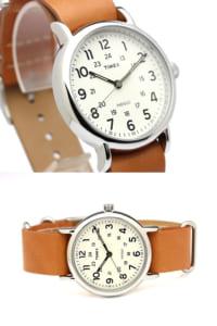 【国内正規品】タイメックス TIMEX 腕時計 メンズ レディース ウィークエンダー セントラルパーク レザー 革ベルト ミリタリー ウォッチ t2p492nt by CAMERON