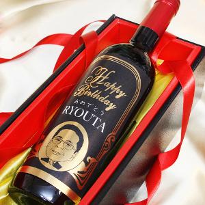 金箔似顔絵ワイン