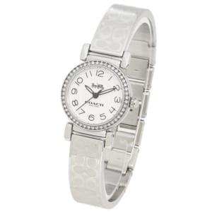 コーチ 時計 COACH 14502870 MADISON レディース腕時計ウォッチ ホワイト/シルバー by ブランドショップAXES(日本流通自主管理協会会員)