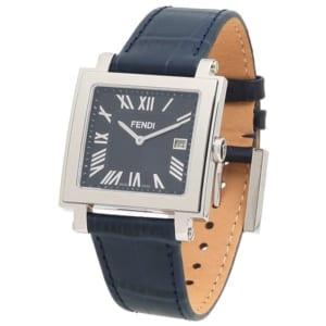 フェンディ 時計 FENDI F604013031 QUADOROMEN クアドロ メンズ腕時計 ウォッチ ネイビーブルー by ブランドショップAXES(日本流通自主管理協会会員)