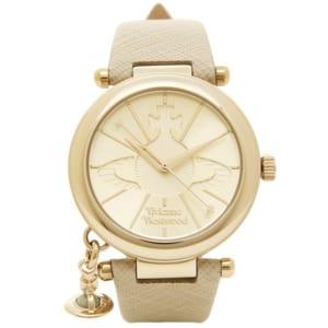 ヴィヴィアンウエストウッド 時計 VIVIENNE WESTWOOD VV006GDCM ORB POP オーブ 腕時計 ウォッチ クリーム/ゴールド/シルバー by ブランドショップAXES(日本流通自主管理協会会員)