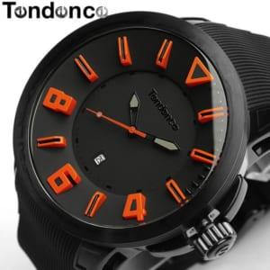 【テンデンス】【Tendence】 腕時計 メンズ ガリバースポーツ GULLIVERSPORT TT5100003 うでどけい MEN'S ウォッチ ブラック×オレンジ ラバー 10気圧防水 by CAMERON