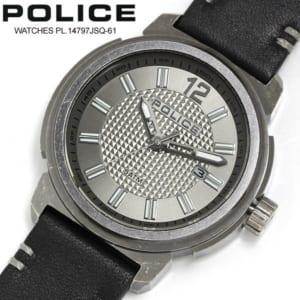 【送料無料】 POLICE ポリス 腕時計 ウォッチ トランプ メンズ アナログ レザー pl14797jsq-61 by CAMERON