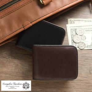青木鞄 オイルアップレザー二つ折り財布