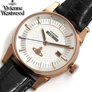 【送料無料】Vivienne Westwood ヴィヴィアンウエストウッド 腕時計 ウォッチ メンズ 男性用 デイトカレンダー vv065swhbk by CAMERON