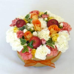 フラワーケーキ/オレンジ&アップル