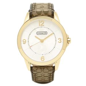 コーチ COACH 時計 腕時計 コーチ 腕時計 レディース COACH 14501613 NEW CLASSIC SIGNATURE ニュークラシックシグネチャー 時計/ウォッチ シルバー by ブランドショップAXES(日本流通自主管理協会会員)
