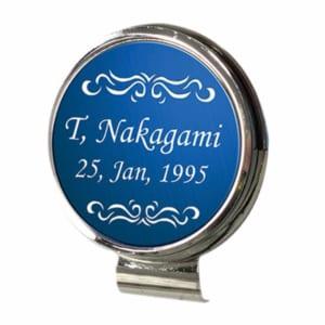 オリジナル 名入れゴルフマーカー☆世界にたったひとつ 磁石でくっつく