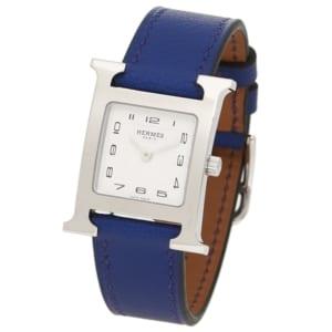 エルメス 時計 HERMES W038915WW00 HH1.210.131/WW7T HウォッチPM レディース腕時計ウォッチ ブルー/シルバー by ブランドショップAXES(日本流通自主管理協会会員)