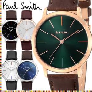 ポールスミス Paul Smith 腕時計 メンズ 革ベルト MA 41mm 本革レザーベルト クラシック ブランド 人気 ウォッチ ギフト プレゼント P10051 P10052 P10053 P10056 P10057 P10059 by CAMERON