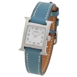 エルメス 時計 HERMES 037879WW00 HH1.110.131/WJE Hウォッチ TPM レディース腕時計ウォッチ ブルー by ブランドショップAXES(日本流通自主管理協会会員)