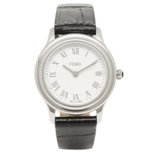 フェンディ 時計 FENDI F250024011 クラシコラウンド  レディース腕時計ウォッチ ホワイト/シルバー/ブラック by ブランドショップAXES(日本流通自主管理協会会員)