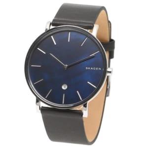 スカーゲン 時計 SKAGEN HAGEN ハーゲン 40MM メンズ腕時計 ウォッチ ネイビー/ブラック by ブランドショップAXES(日本流通自主管理協会会員)