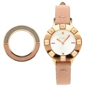 フルラ 時計 FURLA 899451 W490 VIR 00Z CPJ CLUB OROLOGIO TONDO 26 MM+BEZE レディース腕時計ウォッチ CAPPUCCINO b by ブランドショップAXES(日本流通自主管理協会会員)