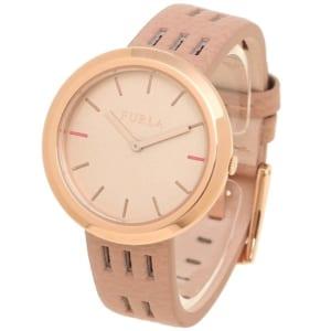 フルラ 時計 FURLA R4251103515 899399 CAPRICCIO カプリッチョ 34MM レディース腕時計ウォッチ MAGNOLIA ピンク/ローズゴールド by ブランドショップAXES(日本流通自主管理協会会員)