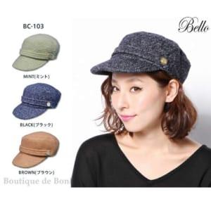 ☆マリンキャップ ワークキャップ[メンズ][レディース]☆Bello BC-103 FEMMES DE GAULLE CAP by Boutique de Bonheur