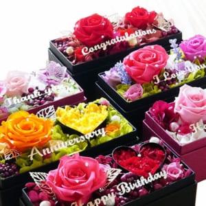 プリザーブドフラワー Candy Box