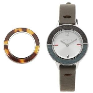 フルラ 時計 FURLA 899450 W490 VIR CLUB クラブ 26MM 替えベゼル付き レディース腕時計ウォッチ ブラウン by ブランドショップAXES(日本流通自主管理協会会員)