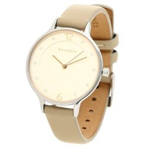 スカーゲン 時計 SKAGEN SKW2648 ANITA アニタ 30MM ホワイト ベージュ シルバー レディース腕時計ウォッチ by ブランドショップAXES(日本流通自主管理協会会員)