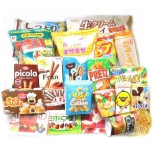 大量!!たくさんのお菓子詰め合わせセット ラッピングver by おかしのマーチ