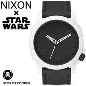 【NIXON×STAR WARS】ニクソン スターウォーズ コラボモデル STORM TROOPER ストームトルーパー レンジャー メンズ レディース 腕時計 ステンレス レザーベルト ウォッチ A466SW-2243-00-1 ギフト by