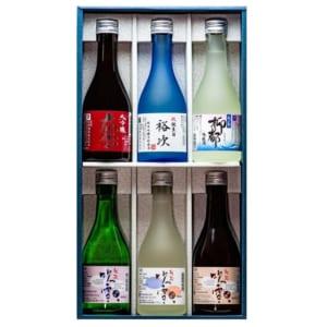 名入れ 日本酒 飲み比べセット 300ml×6本 (高野酒造 新潟県)