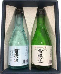 新潟地酒飲み比べ2種