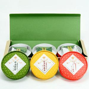 亜細亜三都銘茶紀行 緑茶・烏龍茶・紅茶のセット